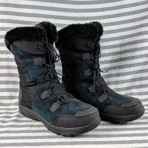 Columbia Winter Boot Black size 6.5